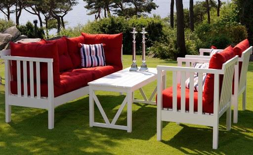 Пошив чехлов и подушек для садовой, дачной мебели