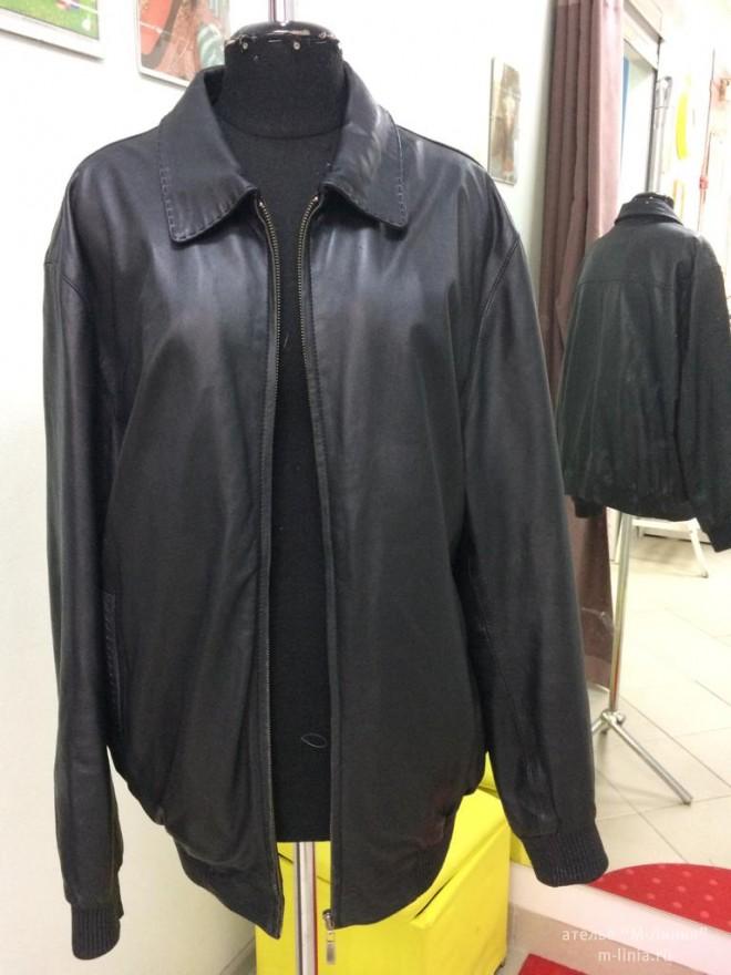 Перекрой из мужской в женскую куртку